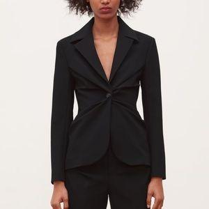 Zara Black Fitted Blazer